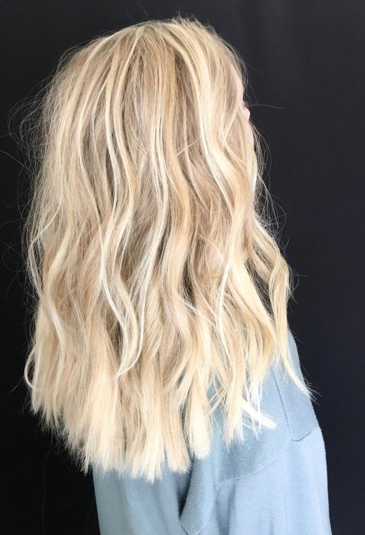 Bright Blonde Baby Lights And Balayage Balayagehairblonde