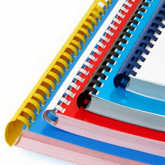 Plastic Binding Combs (Price Per Box)