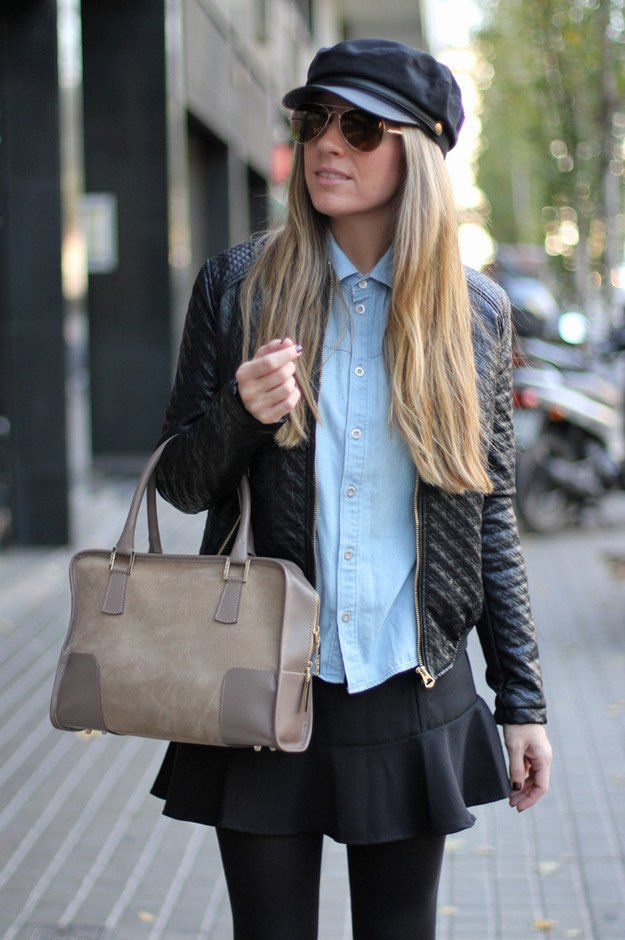 Fashionable Fall Outfit Ideas with Denim Shirts | Jacket images ...