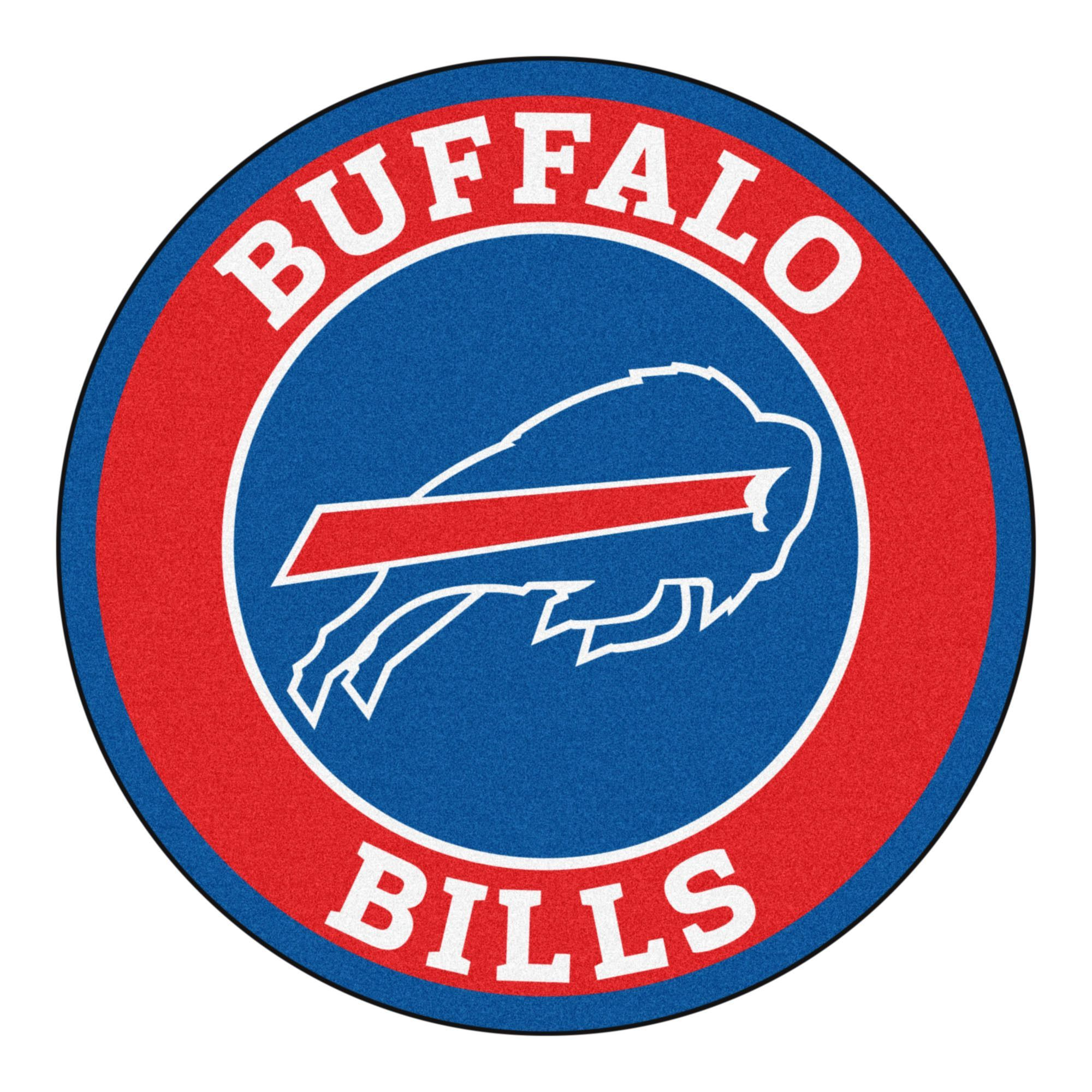 The Buffalo Bills Roundel Round Floor Mat By Fanmats