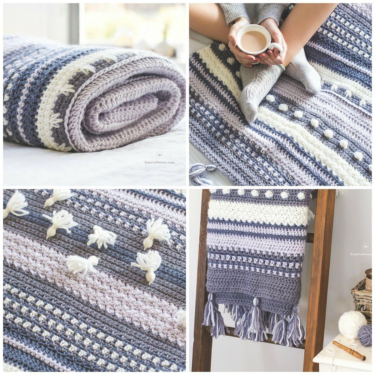 Winter Tempest Blanket [Free Crochet Pattern] | Free Crochet ...