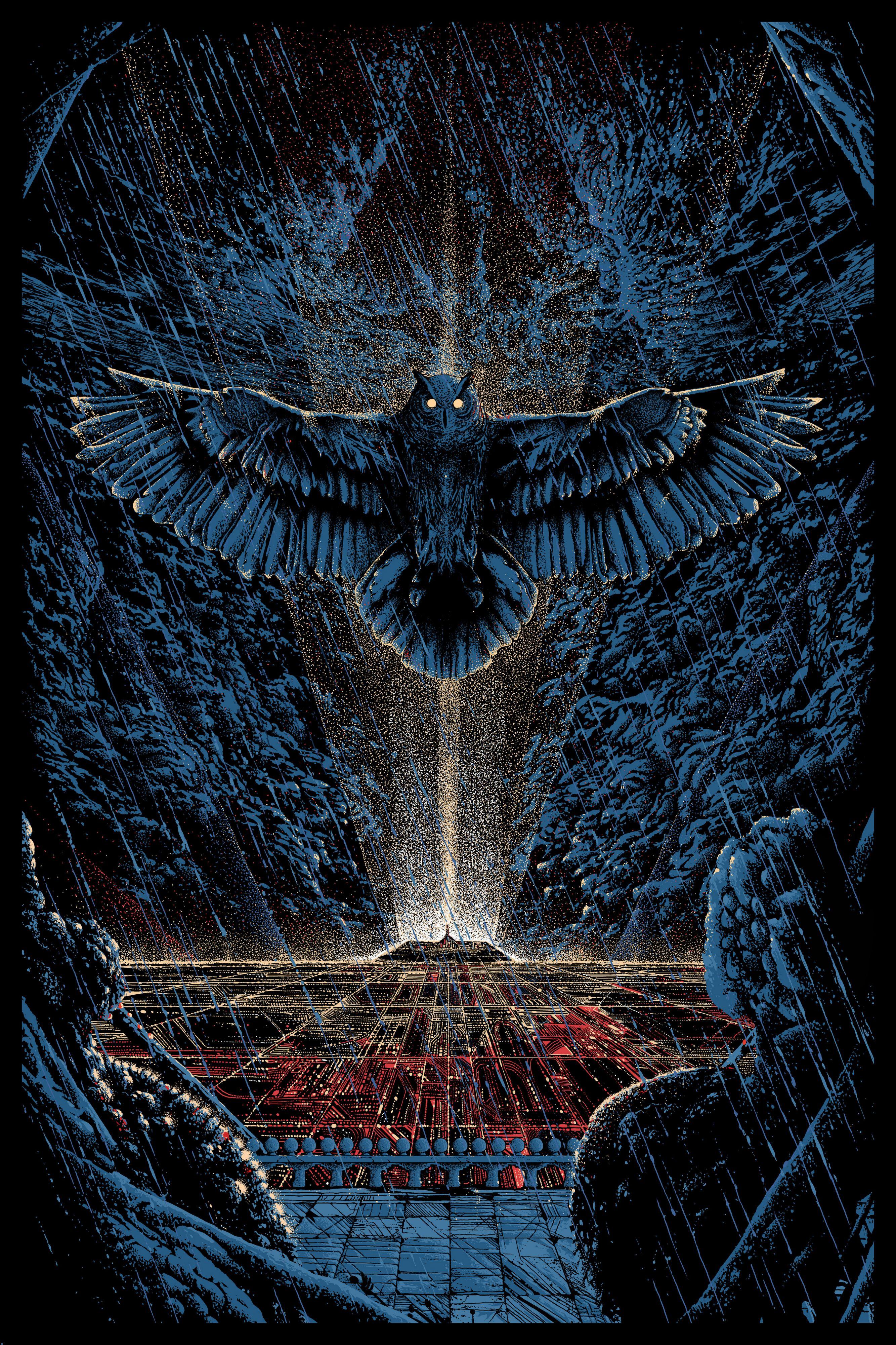 Blade Runner artwork by Killian Eng | Illustration | Pinterest