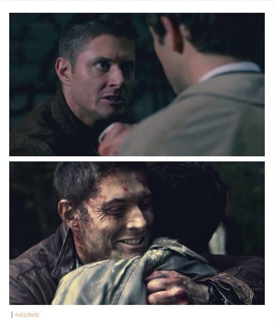 And here we see Dean Winchester with an enemy then a brother