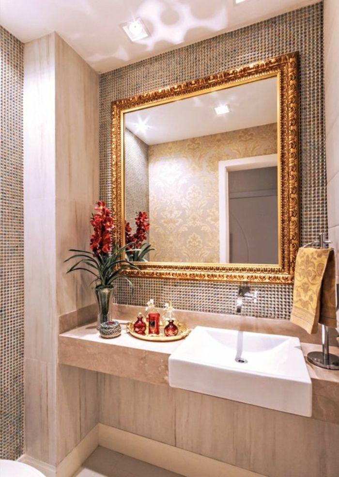 1001 id es pour un miroir salle de bain lumineux les - Cadre pour salle de bain ...