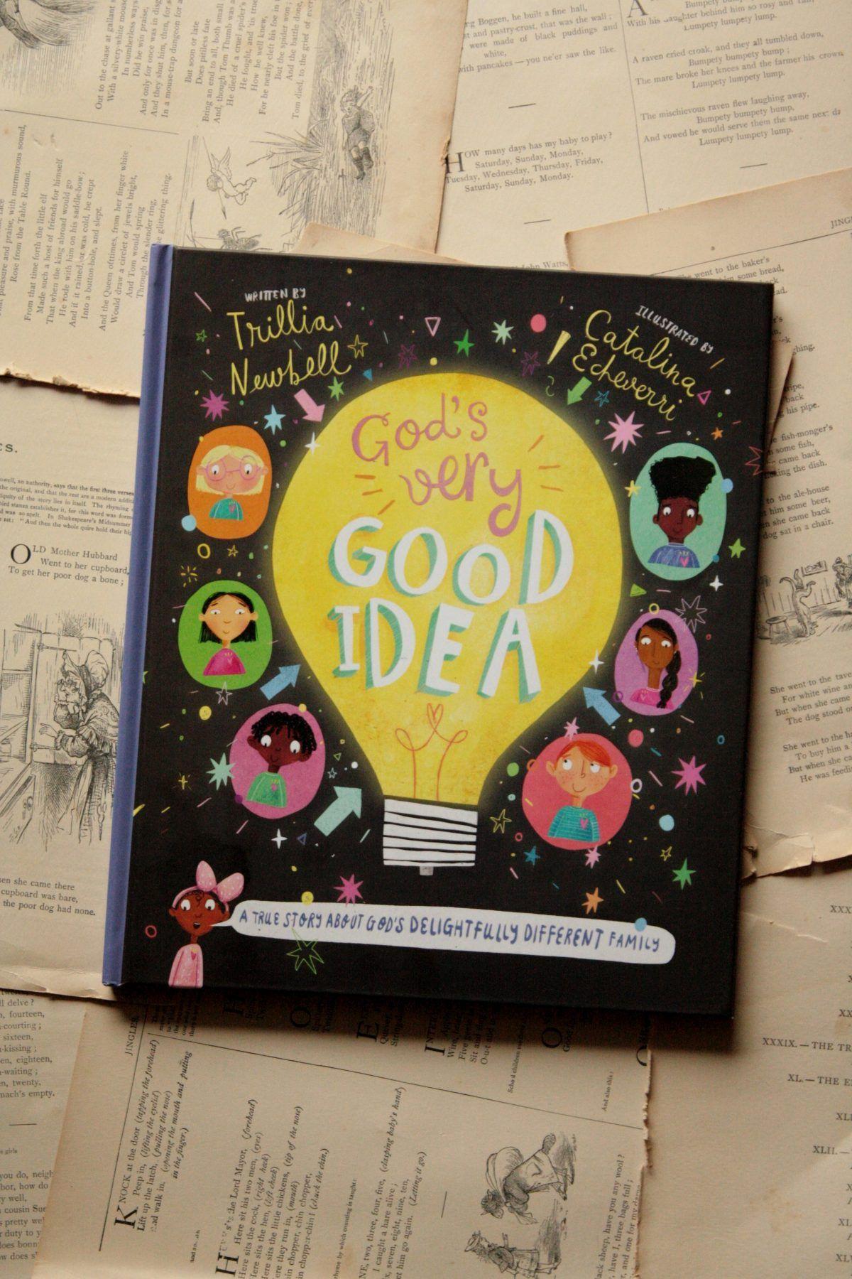 God S Very Good Idea Trillia Newbell Little Book Big Story Little Books Jesus Book Bible For Kids