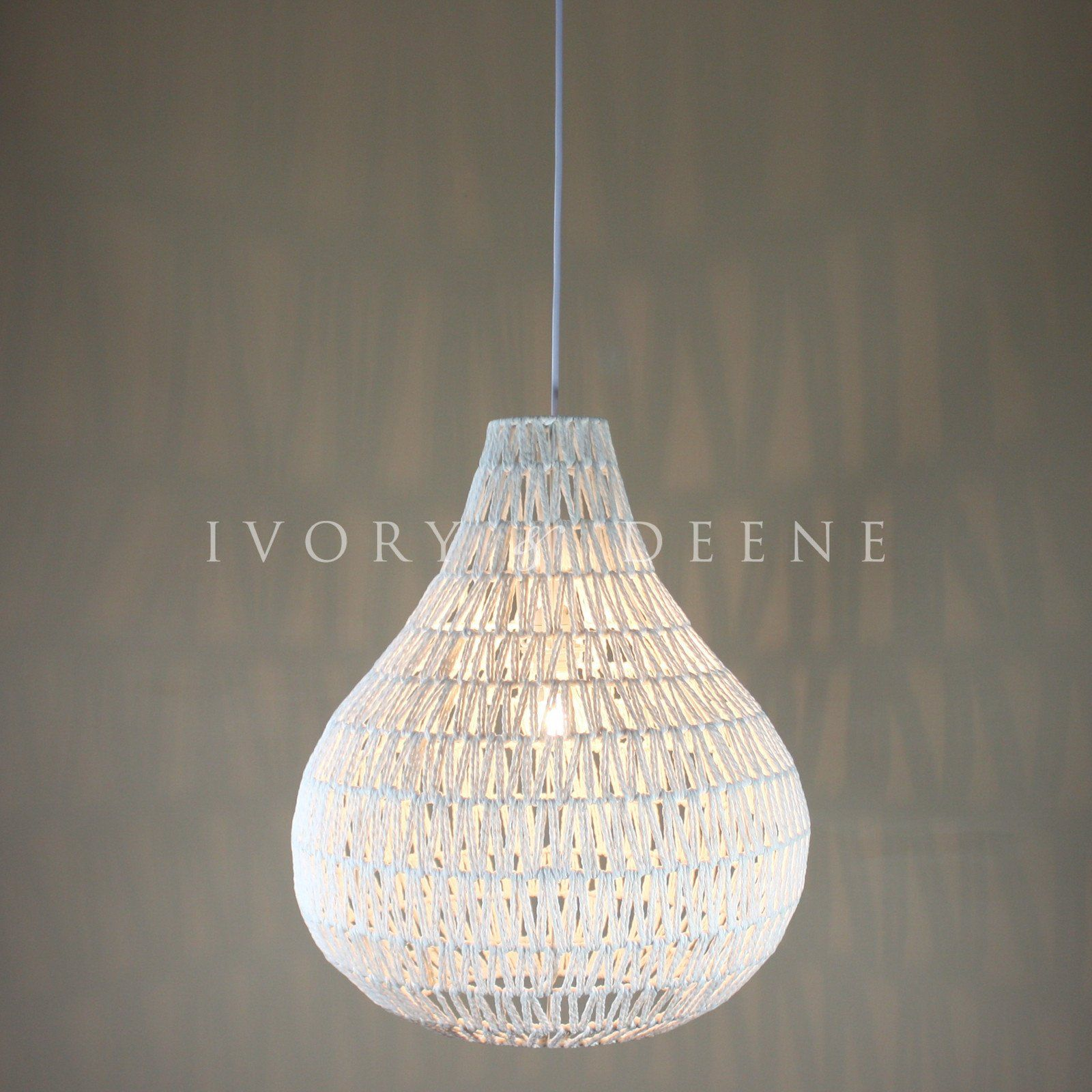 Large rope pendant light white best prices fast delivery large rope pendant light white arubaitofo Image collections