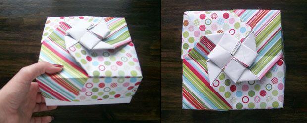 Christmas origami box box origami boxes and christmas origami do it yourself gift box tutorial christmas origami box solutioingenieria Gallery