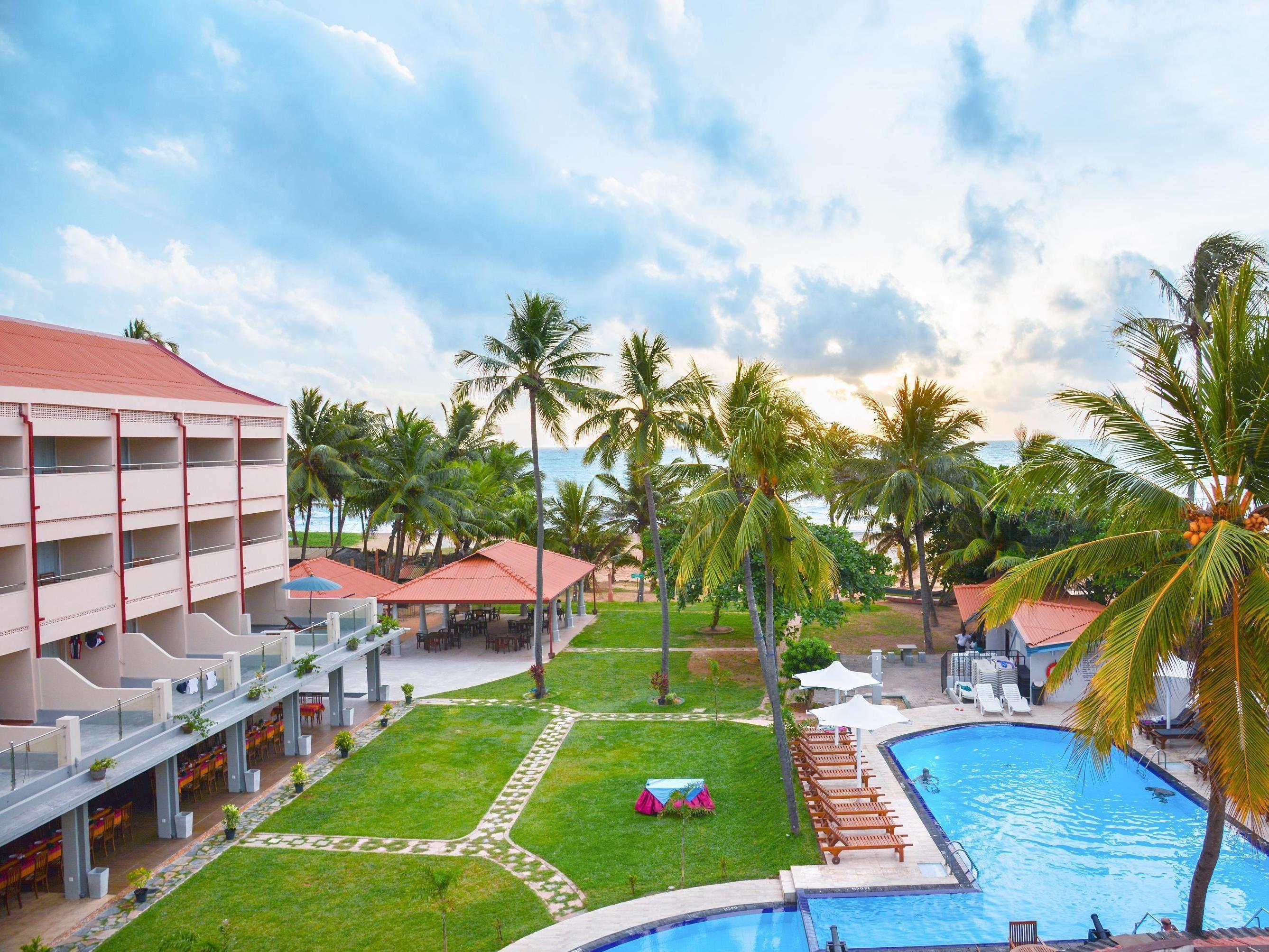 Negombo Paradise Beach Hotel Sri Lanka, Asia Paradise Beach Hotel is ...