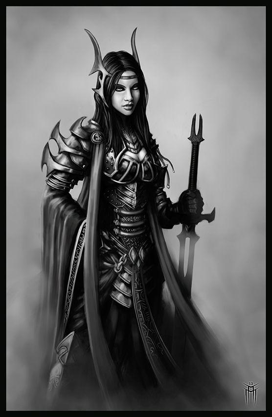 Female vampire warrior...