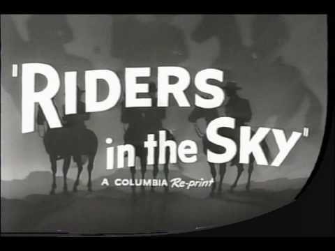 RIDERS IN THE SKY 1949 GENE AUTRY TRAILER