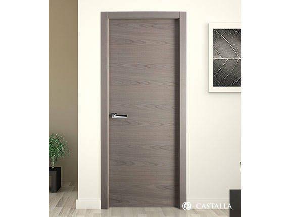 Puerta paris serie lisa puertas interiores puerta de - Colores de puertas de madera interiores ...