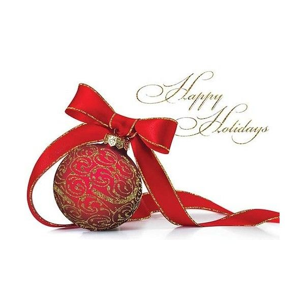 holiday cards business holiday cards ornaments red ornament and