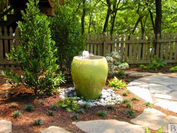 Garden Design Garden Design with Backyard Patio and Water Feature