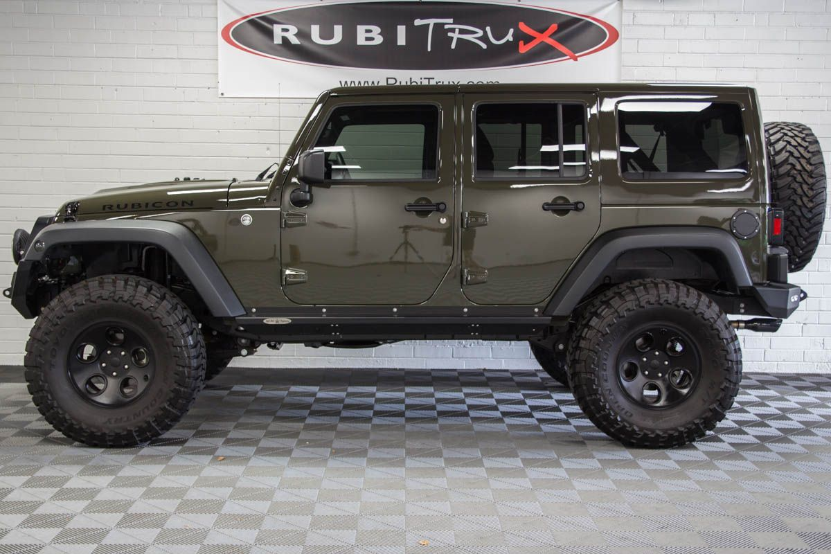 PreOwned 2016 Jeep Wrangler Rubicon Unlimited Tank Green
