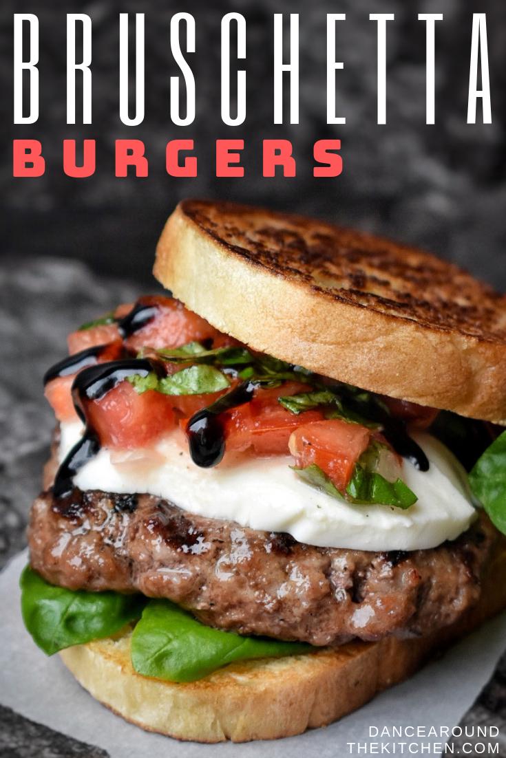 Bruschetta Burgers Opskrift I 2020 Med Billeder Madopskrifter Mad Ideer Mad