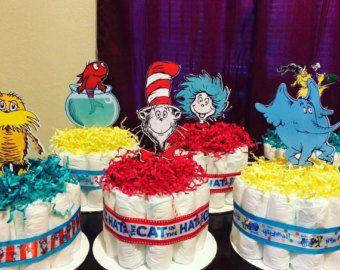 4 dr seuss hats mini diaper cakes baby