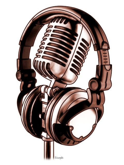 microphone tattoo designs headphones and mic by zzyxz