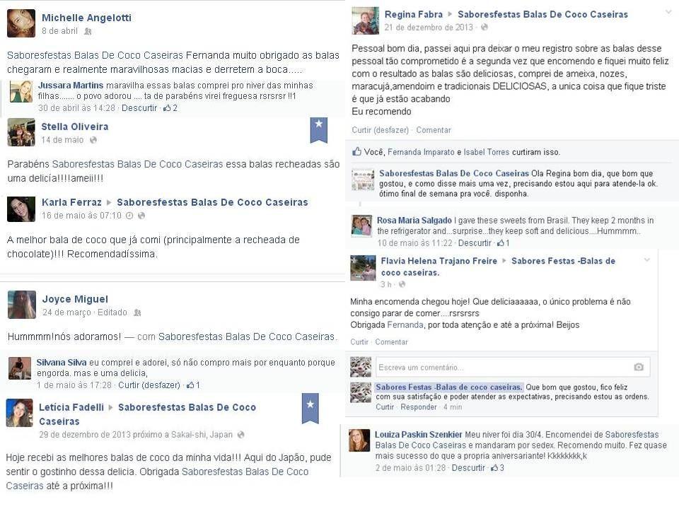Comentarios De Clientes 100 De Satisfacao Festas Eventos