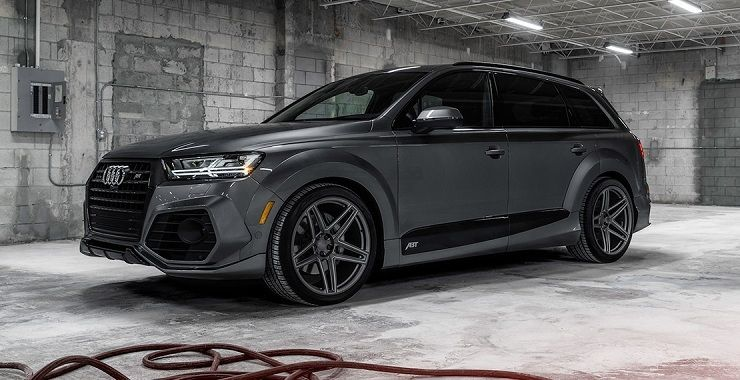 The Limited Edition Abt Audi Q7 To Only Have Only 10 Of Its Kind Audi Q7 Audi Car Dealership