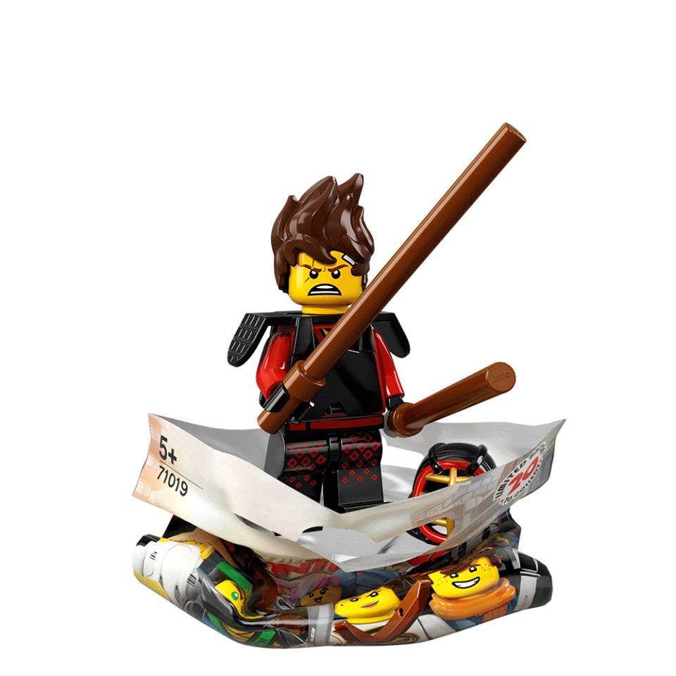 The lego ninjago movie collectible minifigures kai kendo - Lego ninjago d or ...