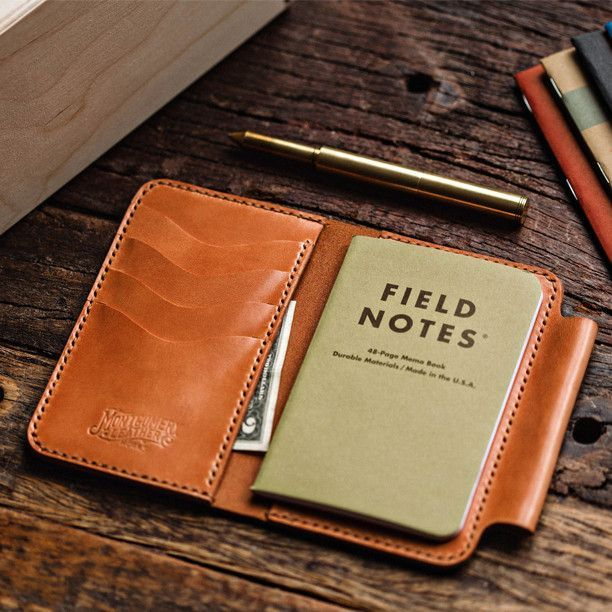 Field Notes Wallet Leather Items Pinterest Note, Journal and - field note