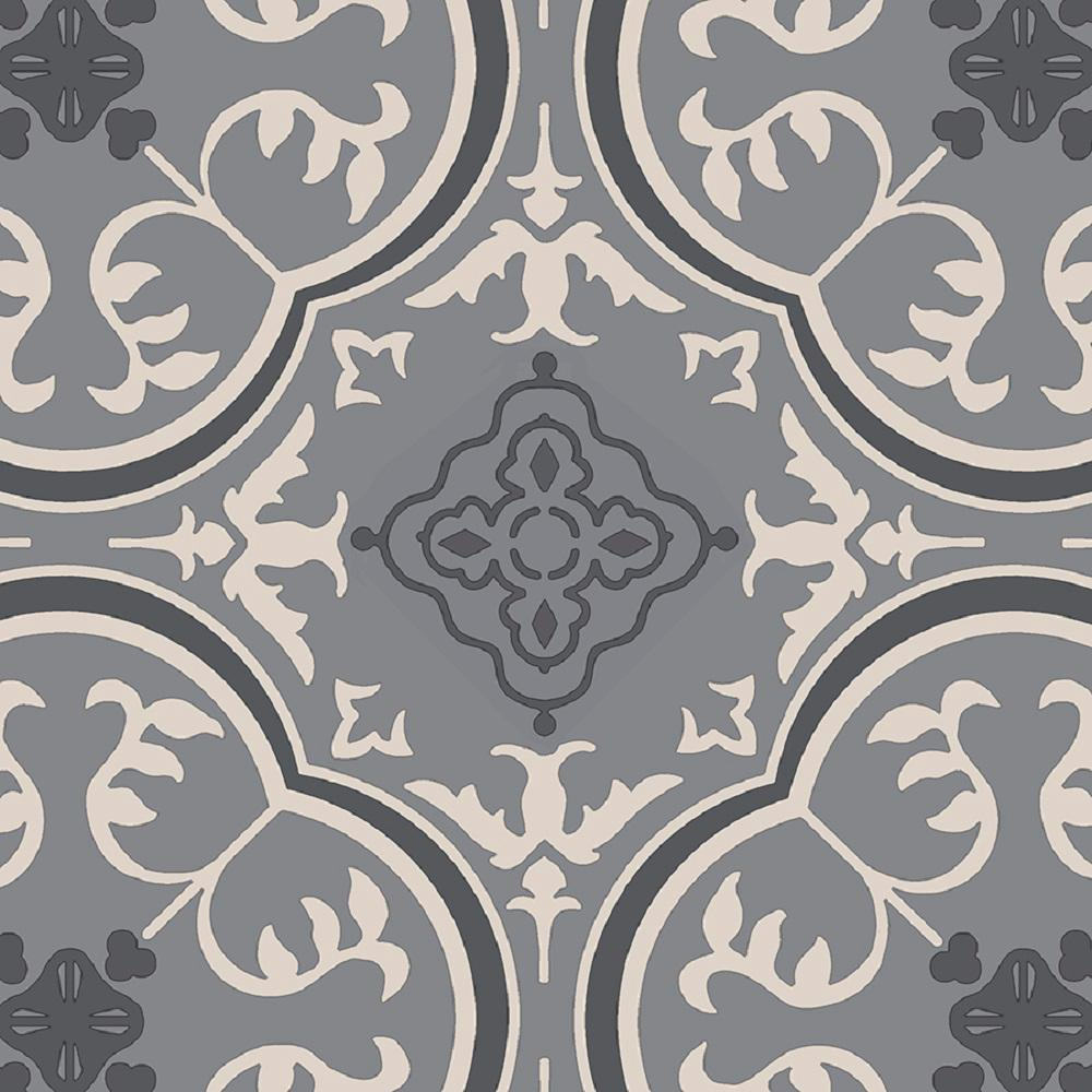 Types Of Kitchen Flooring Ideas: IVC Soho Grey 13.2 Ft. Wide Residential Vinyl Sheet-C9695