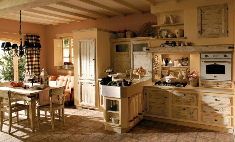 stile-mediterraneo-cucina-muratura-ampie-dimensioni-tavolo ...