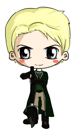 Draco Malfoy Chibi By Icypanther1 On Deviantart Draco Malfoy Fanart Draco Malfoy Harry Potter Anime