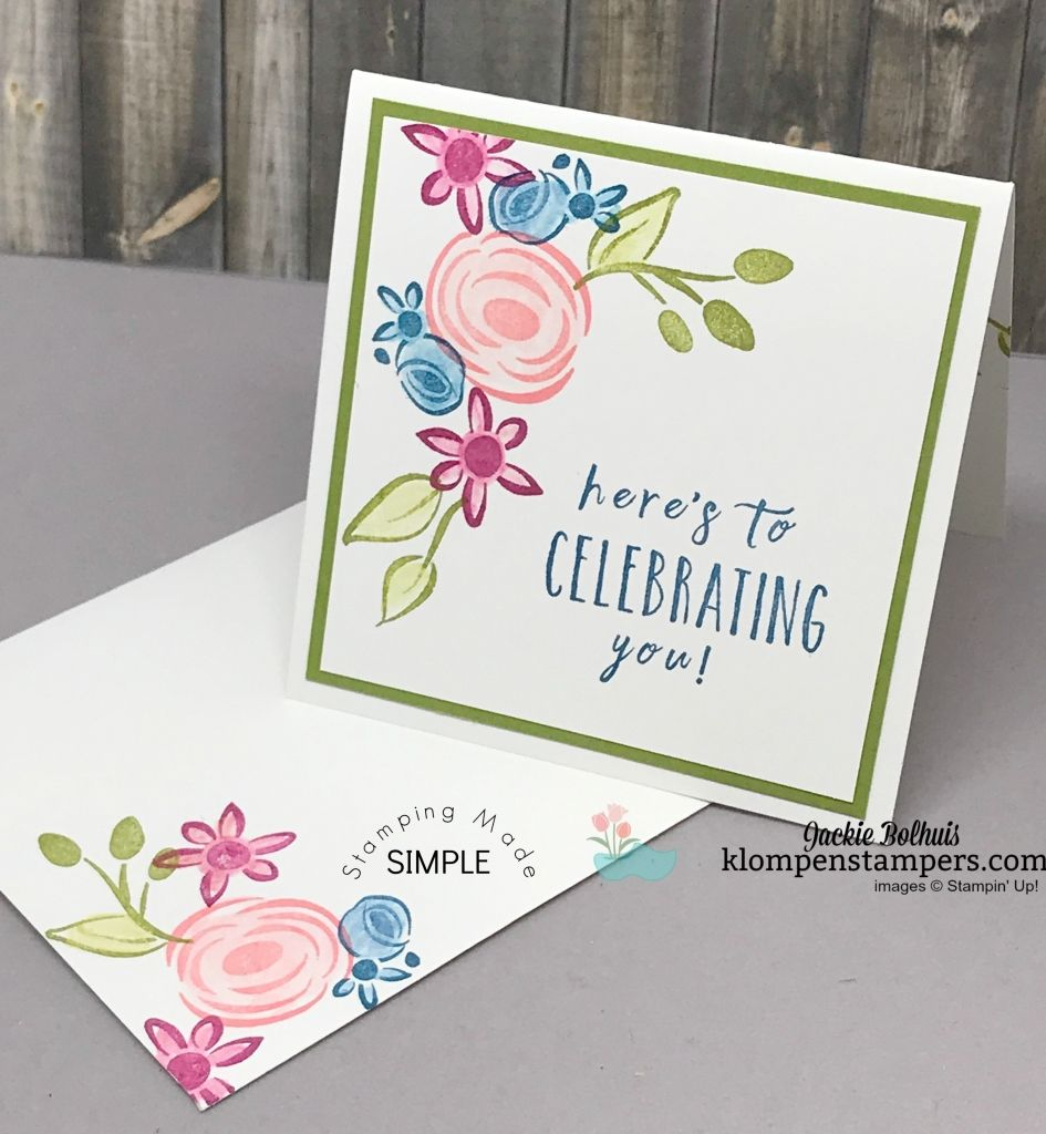 Perennial birthday stamp set is perfect for quick and easy birthday perennial birthday stamp set is perfect for quick and easy birthday notecards all details at kristyandbryce Gallery