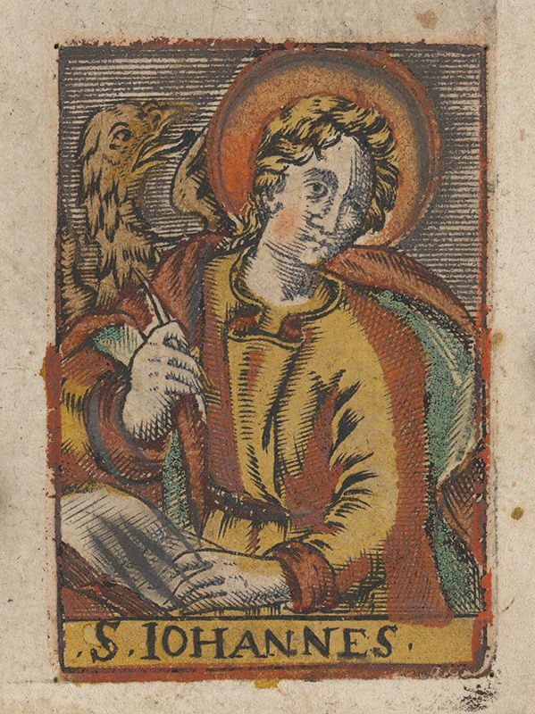 Stredoeurópsky grafik z 18. storočia - Svätý Ján