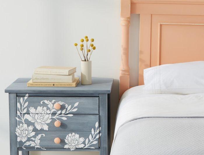 ▷ 1001 + idées comment peindre un meuble ancien Furniture - Peindre Table De Chevet