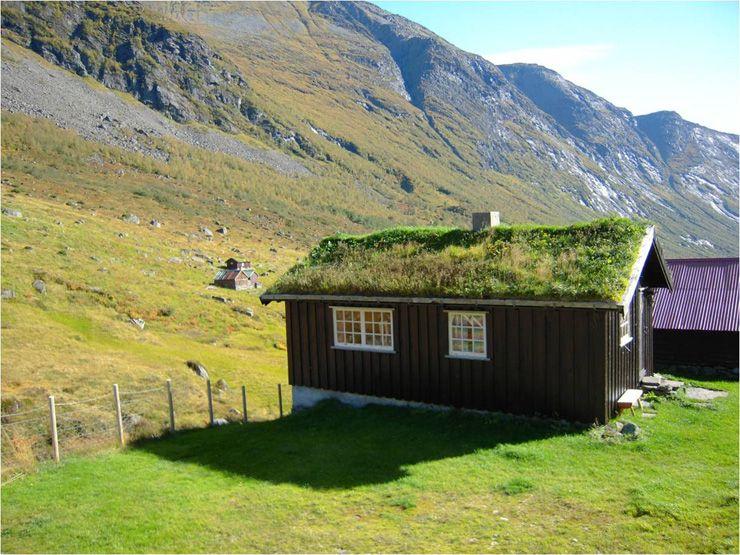 Cabin by Hellesylt, Geirangerfjorden.