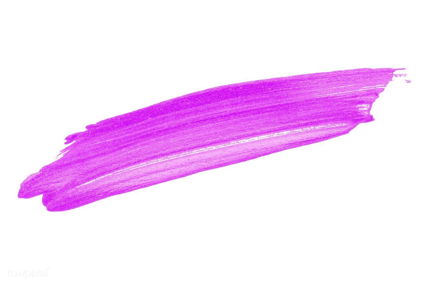 Festive Shimmery Purple Brush Stroke Free Image By Rawpixel Com Ake Brush Strokes Pink Brushes Brush Stroke Png