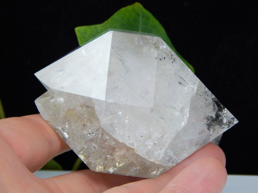 79a27abe9bba Heart Shape Herkimer Diamond with Bifurcated Termination and Unique Twin  Crystal