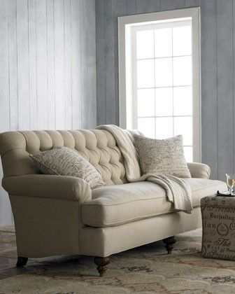 Tufted Sofa This One Is Great Because It Has A High Back