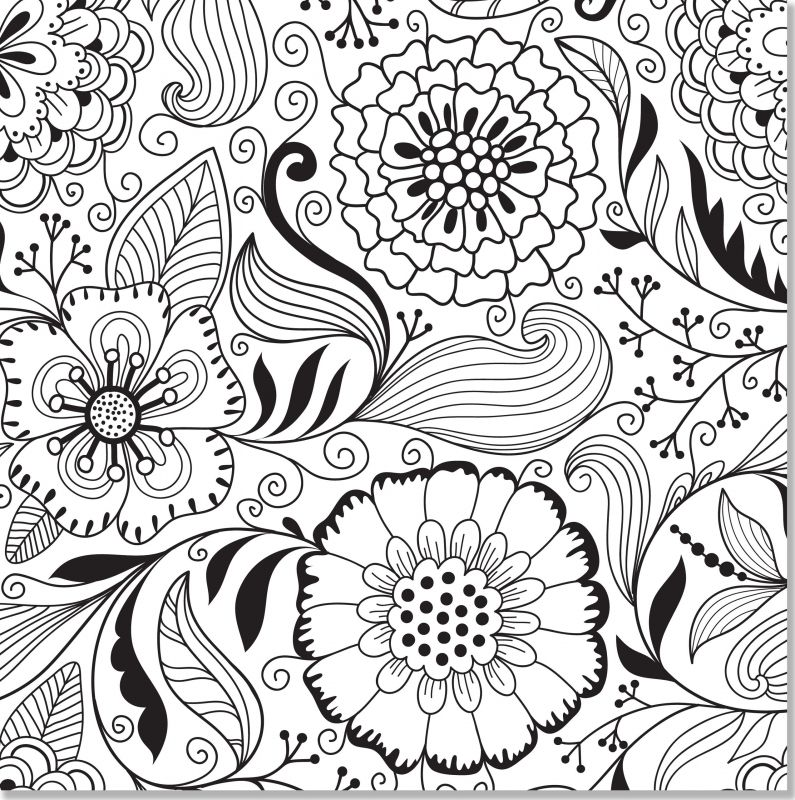 1000 Images About Adult Coloring Pages On Pinterest Free Printable Book For Adults Ad9