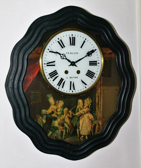 d5e9a25adf008 Catawiki online auction house  French Oeil de Boeuf – With painting –  Period 1870