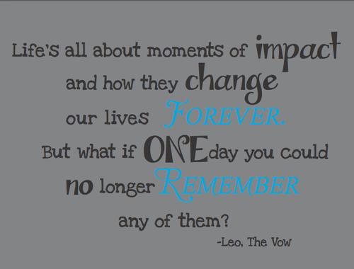 The Vow Quotes   The Vow Quotes The Vow Movie Quotes Tumblr A Quote From The Vow