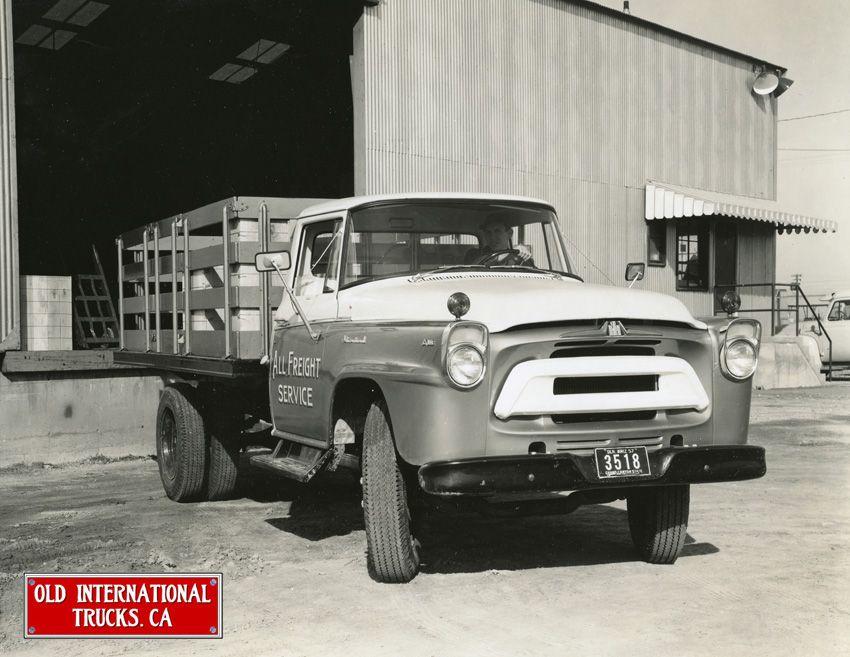 1957 International Model A 160 Stake Truck International Truck