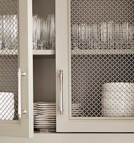 Stainless Steel And Glass Kitchen Cabinet Doors: 40 Ingenious Kitchen Cabinetry Ideas And Designs