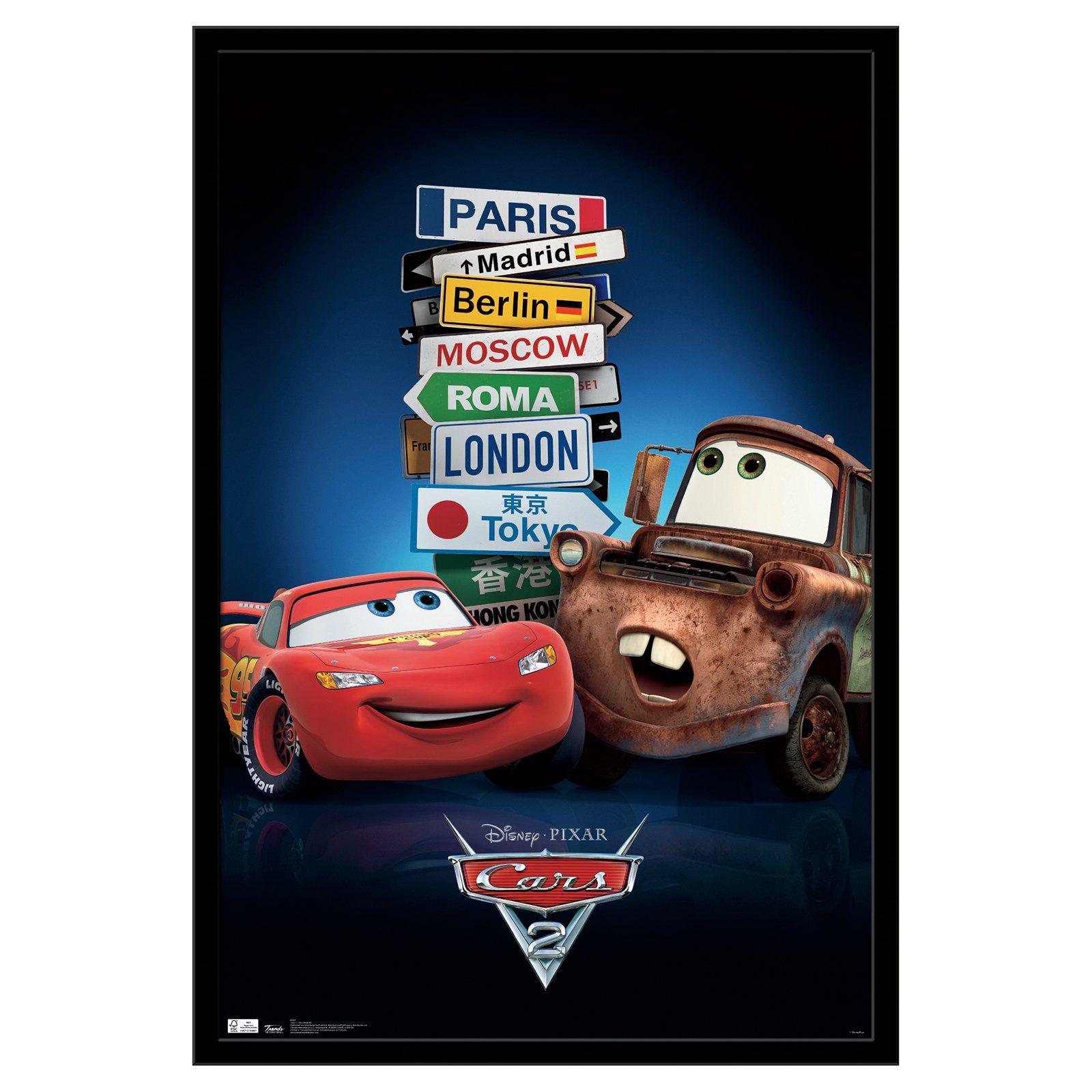 Cars Film boy toddler tee shirt  Walt Disney Pictures Pixar Animation Studios
