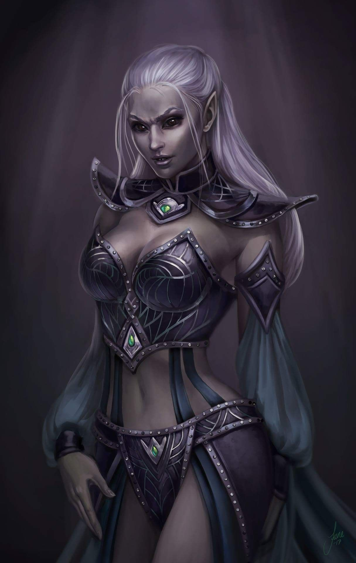 Pin By Mysyfybooks On Dark Elf Dungeons And Dragons Characters