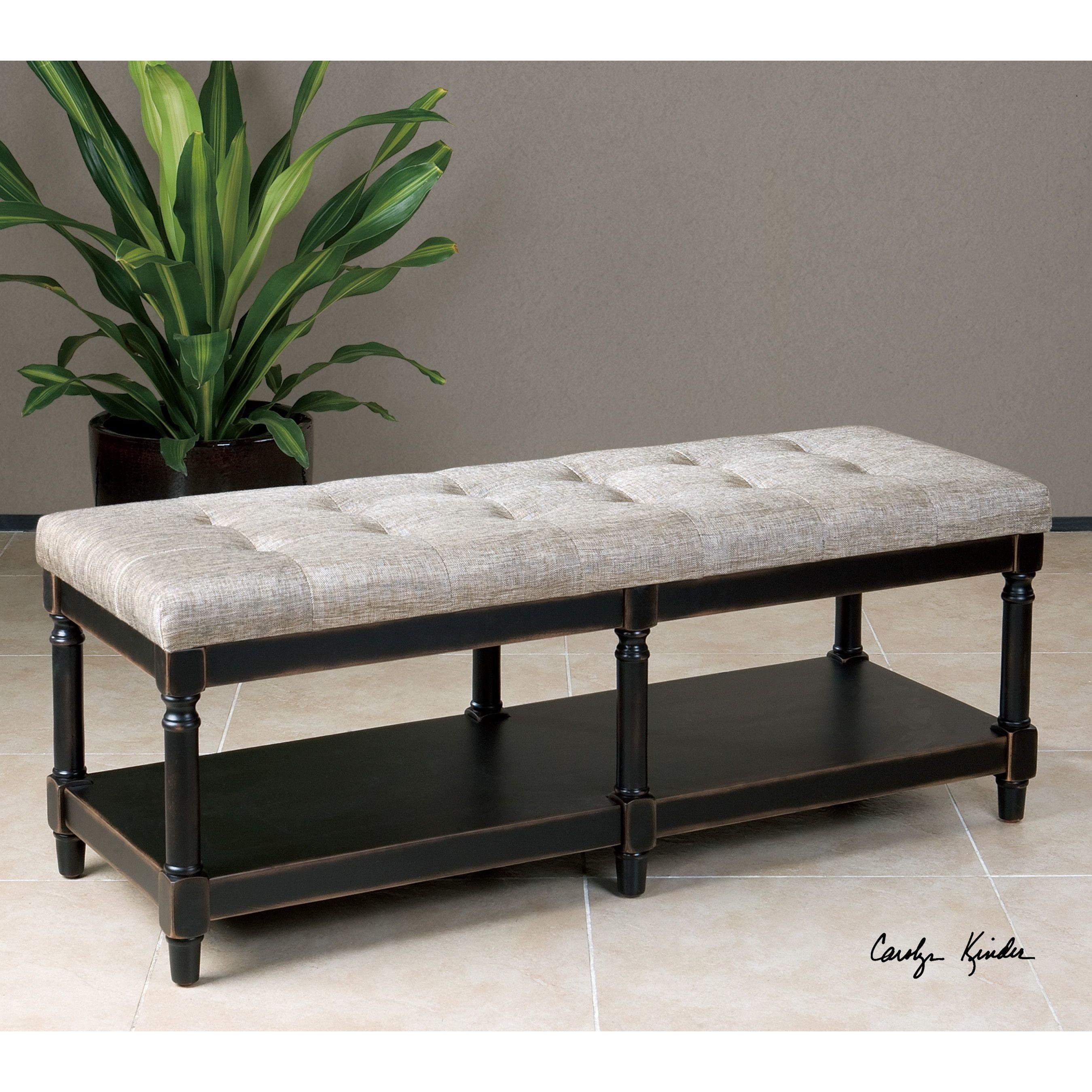 serafino upholstered bedroom bench | panchine, stanze da letto e ... - Panche Per Camera Da Letto