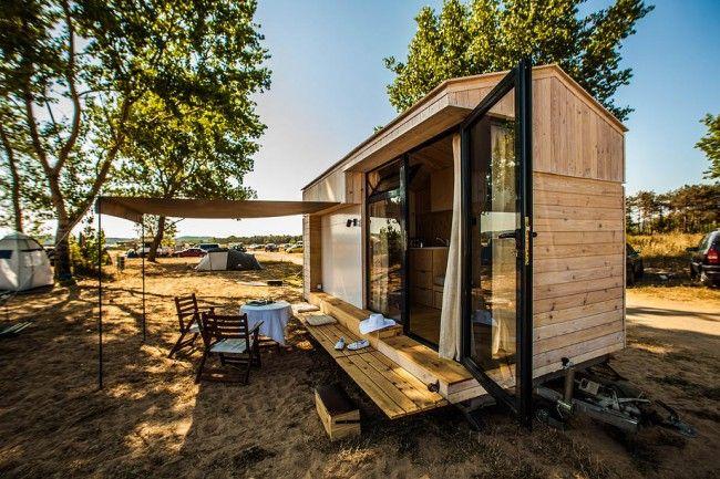 Koleliba Petite Maison Roulante En Bois Gadgets Petite Maison