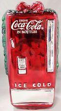 COCA-COLA TABLE TOP MERCURY GLASS COKE DISPENSER VENDING MACHINE XMAS DECORATION