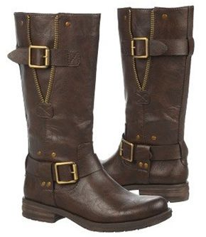 Naturalizer Women's Ballona Mid-Calf Wide Calf Boot (Brown) Faux ...