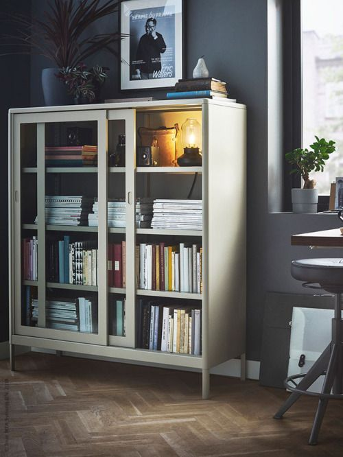 Ikea Home Office Library Ideas: Pin By Chris K On Home And Living