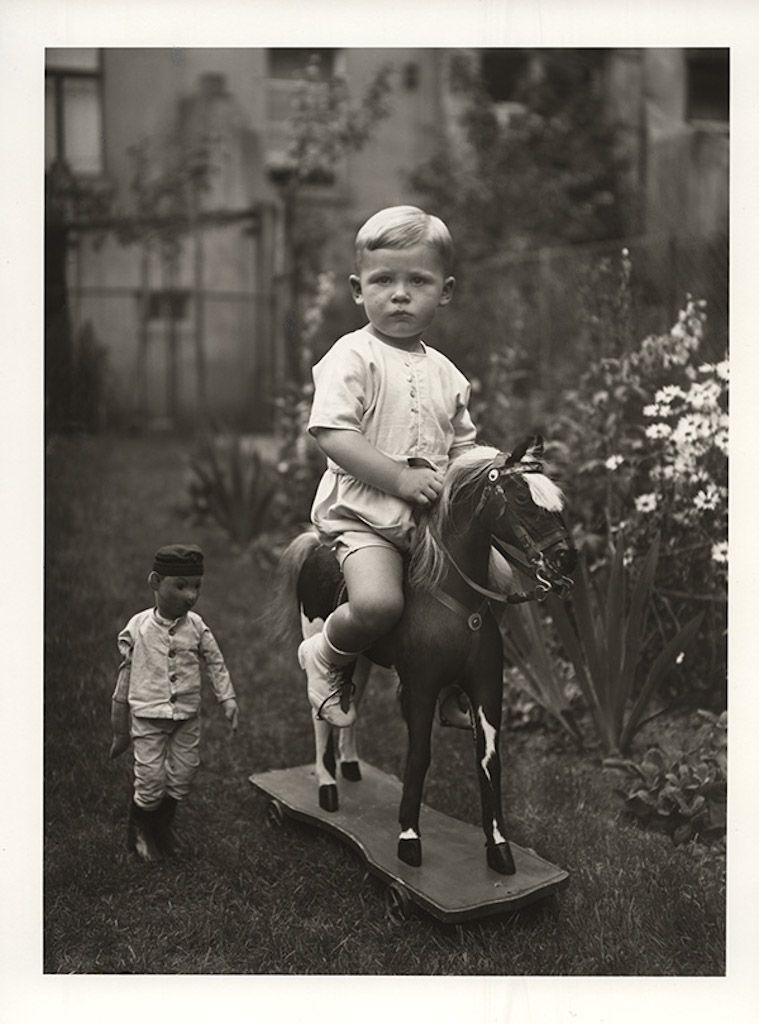 August Sander III146 MiddleClass Child c 1930 Gelatin Silver Print printed later by