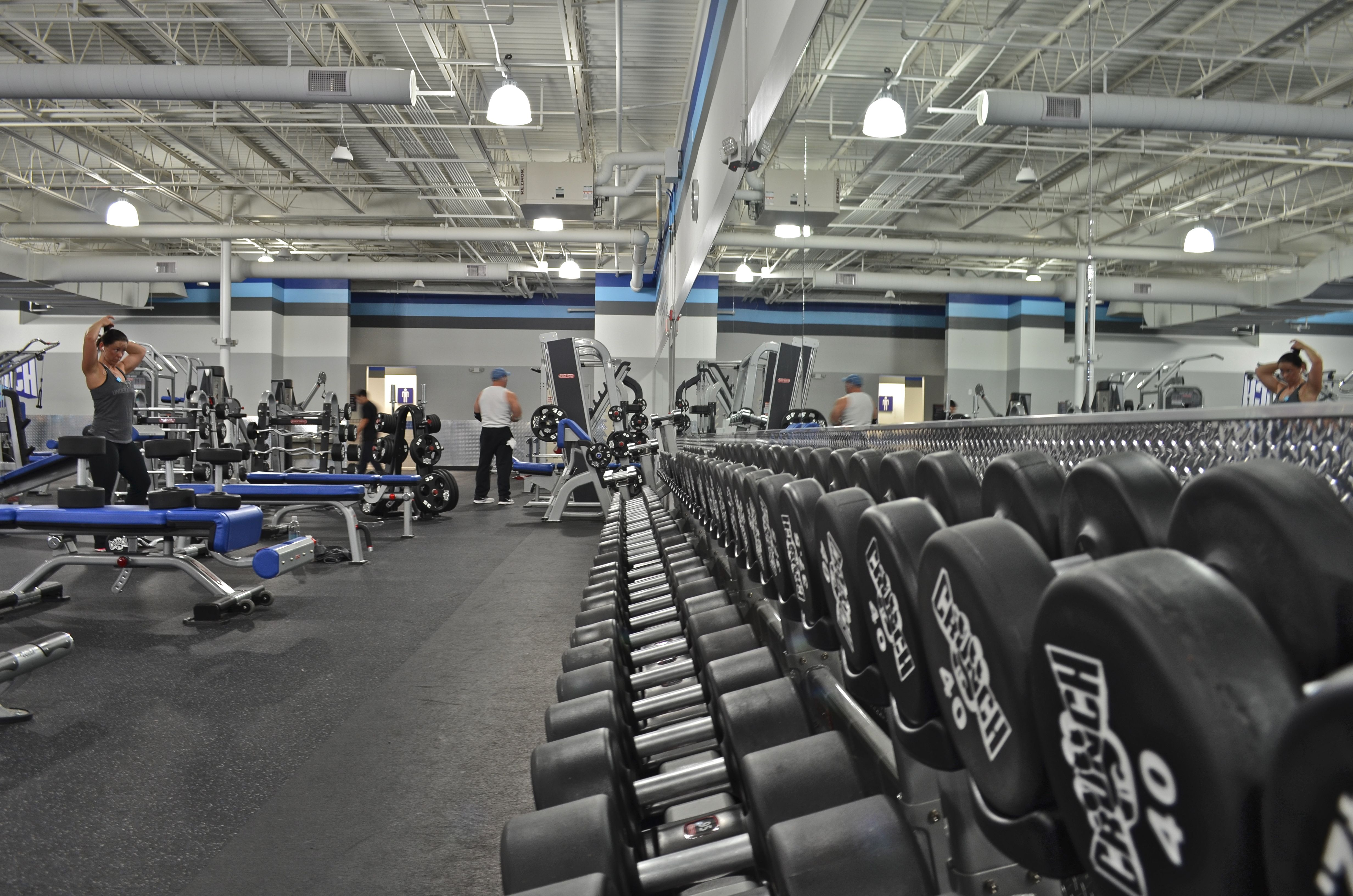 Pin On Superior Structures Crunch Fitness