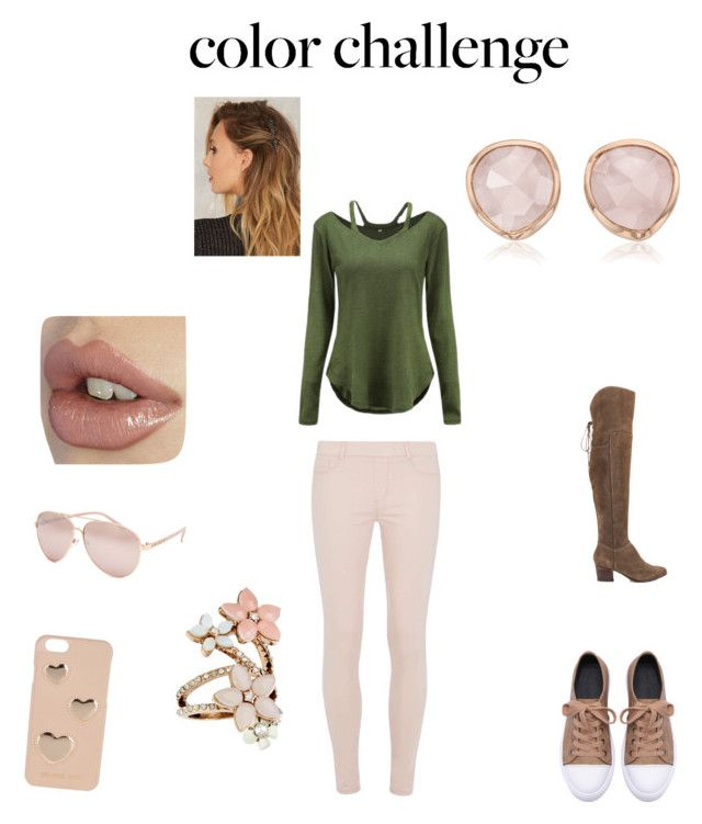 """Untitled #4"" by sugarhionplatforms-hollyhud on Polyvore featuring Dorothy Perkins, Monica Vinader, Accessorize, ALDO, Full Tilt and MICHAEL Michael Kors"